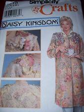 DAISY KINGDOM-SIMPLICITY #7718-LADIES APRON - SMOCK - CRAFT COAT PATTERN S-LG FF