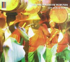 THE DRUMMERS OF BURUNDI - LIVE AT REAL WORLD  CD NEU