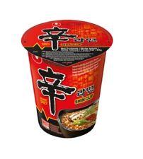 1 Coquille Nong Shim Shin Tasse Sharp Instant Soupe de Nouilles 1x68g Corée