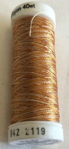 SULKY 40 WEIGHT RAYON EMBROIDERY THREAD  COLLECTION 2-----250 YARDS--MANY COLORS
