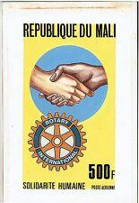 MALI 1987 ROTARY SOLIDARITY HANDPAINTED ARTWORK ESSAY ADOPTED DESIGN C538 UNIQUE