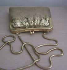 Vintage Whiting & Davis GOLD MESH Shoulder Bag/Purse/Handbag~EXCL