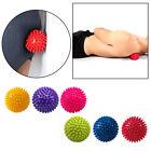 7.5/9.5cm Boule massage Balle Hérisson Point Acupression Poignée Yoga Fitness NF