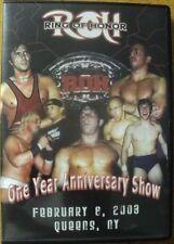Ring of Honor One Year Anniversary Show ROH NXT NJPW PWG WWE Joe vs Dragon OOP