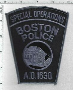Boston Police Special Operations (Massachusetts) 2nd Issue Shoulder Patch