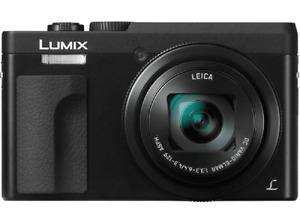 "Panasonic Lumix DC-TZ90 negro, 20.3MP, 1/2.3"" MOS, vídeo 4K"