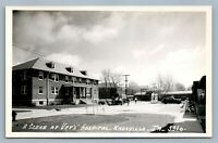 KNOXVILLE IA VER'S HOSPITAL VINTAGE REAL PHOTO POSTCARD RPPC