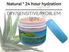 Moisturizing Hydrating Dry Skin Cream Hyaluronic acid Beta-glucan Aloe Argan MSM