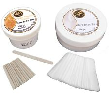 Sugar Waxing -  Ear, Nose and Eyebrow hair removal kit, 100% Natural Ingredients