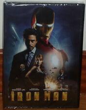 IRON MAN DVD NEW SEALED ACTION FANTASTIC ROBERT DOWNEY JR. (UNOPENED) R2