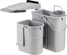 Wesco Einbaumülleimer Mülleimer 29 Liter 3-fach NEU mit Bio Boy Einsatz 5 Liter