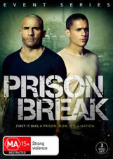 PRISON BREAK (COMPLETE SEASON 5 - EVENT SERIES DVD SET SEALED + FREE POST)