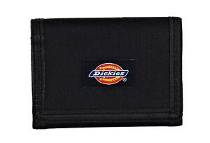 Dickies Men's Fabric Trifold Wallet Black