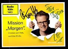 Christian vom Hofe Autogrammkarte Original Signiert ## BC 55448