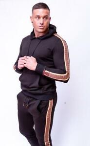 Mens Unisex Full Tracksuit Set Pullover Hoodie Hooded Sweatshirt Joggers Bottoms