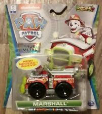 Paw Patrol JUNGLE RESCUE Marshall True Metal Vehicles NEW