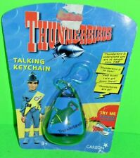 Thunderbirds Soundtech Talking Keychain - Carlton -1999-ON FACTORY SEALED CARD