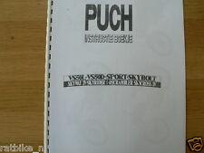 P0016 PUCH---INSTRUCTIE BOEKJE   TYPE---VS 50 L (2V) + VS 50 D (3V) + SKYBOLT (3