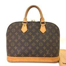 100% Authentic Louis Vuitton Monogram Alma Tote Hand Bag Purse /40616
