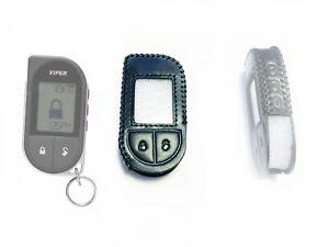 Leather case for Viper 5706, 4706, 7756V, 2 Way LCD Viper remote control