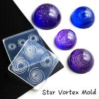 Silicone Star Vortex Transparent Mold DIY Handmade Craft Jewelry Making Props