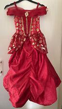 DISNEY Principessa Belle Vestito. età 5-6 ANNI LA BELLA E LA BESTIA Dress Up