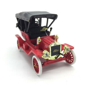 1:32 Vintage Ford Model T Model Car Metal Diecast Vehicle Collection Gift Red