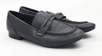 Marks & Spencer Womens UK Size 6.5 Black Leather Shoes