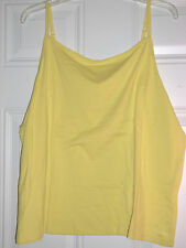Ladies Cabelas Adjustable Camisole/Tank Size 2XL Neon Tetra (Yellow) Blouse~NWT