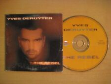 YVES DERUYTER The Rebel 2-track CDS Card sleeve *  BONZAI