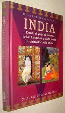 INDIA - RICHARD WATERSTONE - ILUSTRADO