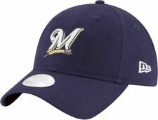 Milwaukee Brewers New Era MLB Women's Core Classic Adjustable Baseball Cap Hat M