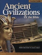 HISTORY REVEALED: ANCIENT CIVILIZATIONS & BIBLE - TEACHER GUIDE By Diana NEW