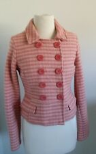 Womens Wool Abercrombie & Fitch check jacket sz m $450