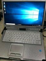 Panasonic ToughBook CF-C2 MK2 i5-4300U 1.9GHZ 8GB 500 GIG Win 10 GRADE A