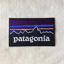PATAGONIA LOGO EMBROIDERY IRON ON PATCH BADGE #ROYAL BLUE