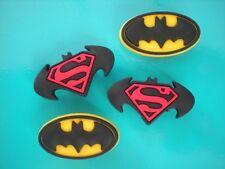 Jibbitz  Croc Clog Charm Plug Embellishment Accessories Bracelet Batman Superman