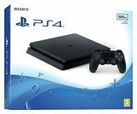 Sony Playstation 4 PS4 Slim Console 500Gb - Black