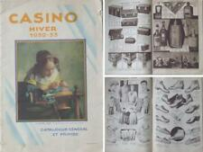 CATALOGUE GRAND MAGASIN CASINO 1932 1933