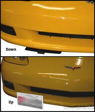 C5 C6  97-13 Corvette Manual Retractable Front License Plate Show N Go