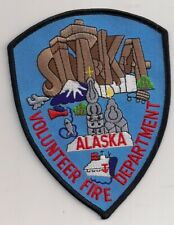 Patch Sitka Volunteer Fire Department Alaska USA Feuerwehr