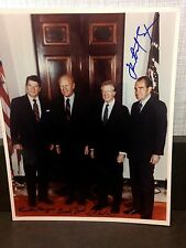 RONALD REAGAN RICHARD NIXON 4 8X10 SIGNED JIMMY CARTER  MAKE OFFER