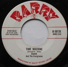 DANTE & THE EVERGREENS Time machine / Dream land Ex CANADA ORIG 1960 BARRY 45