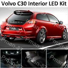 DELUXE VOLVO C30 LED INTERIOR UPGRADE KIT BULB SET XENON WHITE UK SELLER