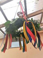 Richtkranz mini als Deko oder statt Blumen als Geschenk für das Richtfest