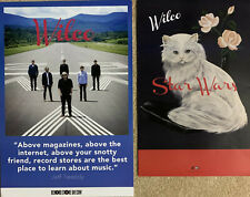 Set of 2 Wilco New Promo Posters Record Store Day / Star Wars Jeff Tweedy