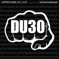 DU30 Philippines Art Design Vinyl Sticker Decals