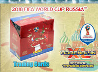 Panini Adrenalyn XL World Cup Russia 2018 50 Booster - 300 Trading Cards WM