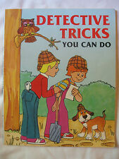Detective Tricks You Can Do by Judith Conaway (1986, Paperback) 1st Edition