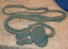 Original Indian Wars Shoulder Cord - 1902 Infantry Blue Dress Aiguillette Mint